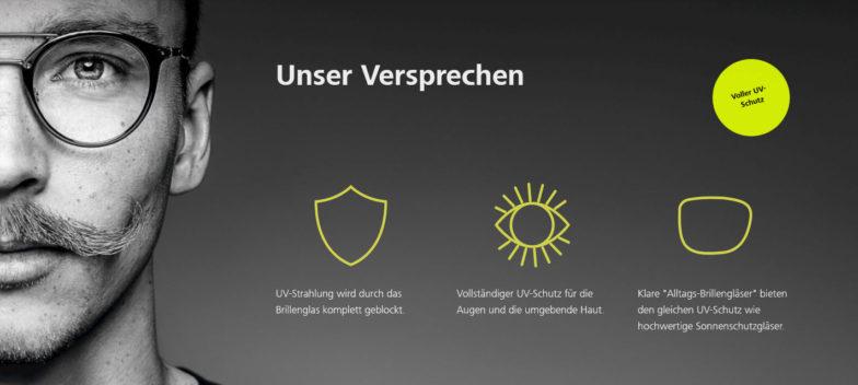 offizieller Laden populäres Design am besten wählen NEU: Alle Zeiss Brillengläser mit UVProtect Technologie ...
